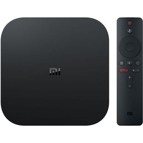 Mi Box S 4K Ultra HD Streaming Media Player Google Assistant - Chromecast  Built-in