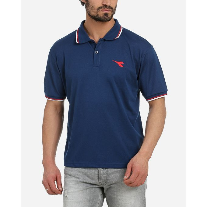 the latest d57ef 444ed Men Polo Shirt - Navy Blue