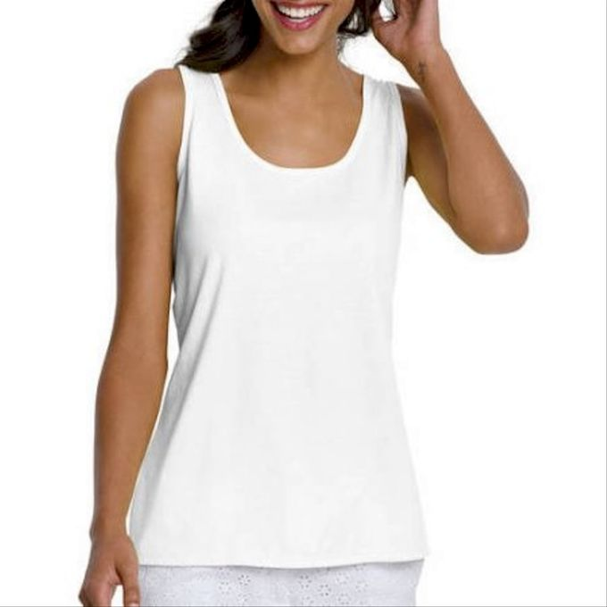 Hanes Womens Basic Essential Tank