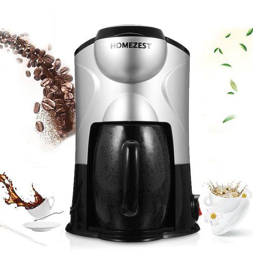 Mini 220V 300W Semi-automatic Espresso Coffee machine Drip Cups Coffee Maker Pink