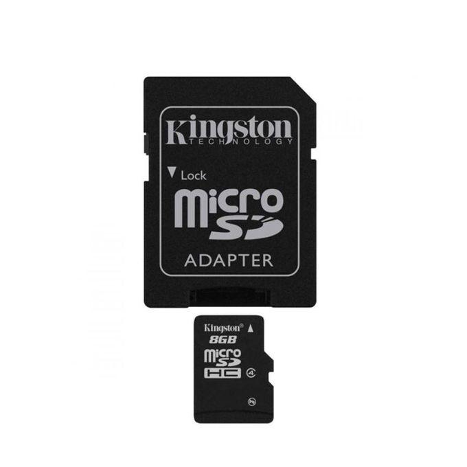 بطاقة ذاكرة MicroSDHC 8 جيجا بايت – Class 4 –  مصر
