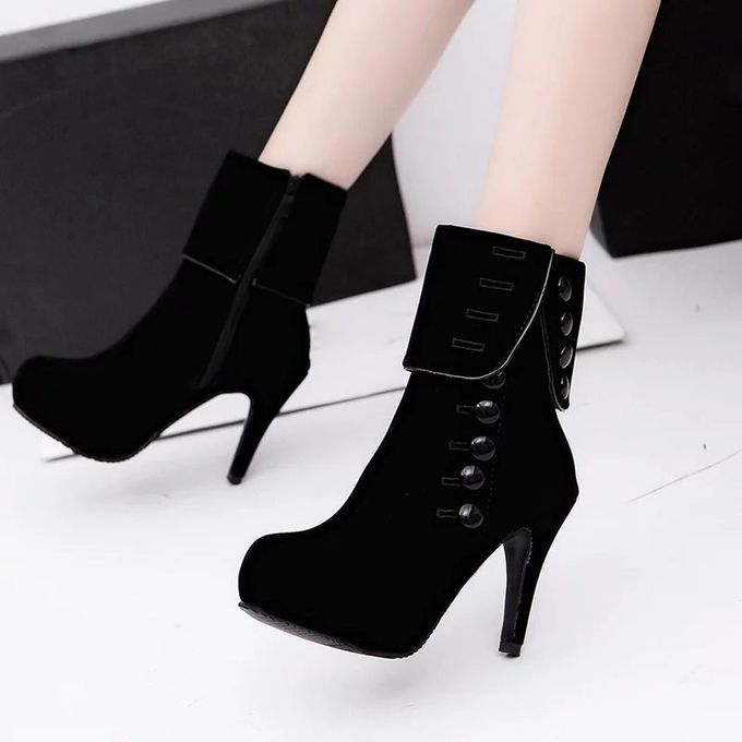Sale On Women Ankle Boots High Heels Fashion Red Shoes Platform