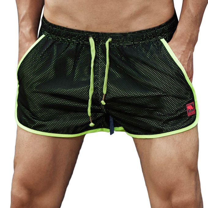 64cd55efc9 Mens Fashion Mesh Quick Drying Comfortable Sport Board Beach Shorts