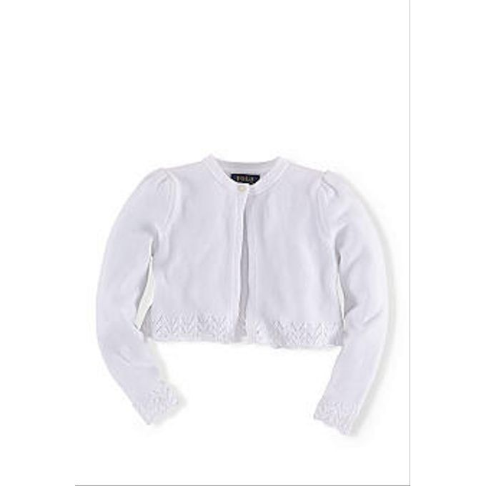 Ralph Lauren Childrenswear Long Sleeve Shrug Girls 4-6x