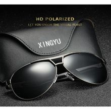 323e8d120bc6 Excellent Polarized Sunglasses Classic Driving Mirror Men  039 s Glasses- black