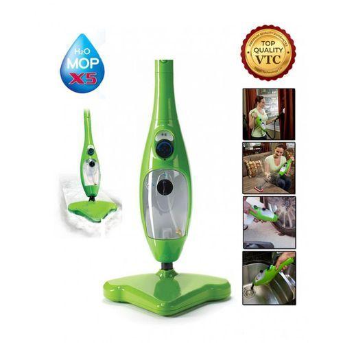 5 In 1 Steam Mop - Green
