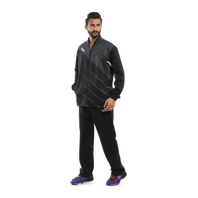 save off 8364f 4fe10 Men Tracksuit Black And Grey Kempa