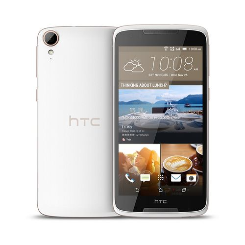 موبايل اتش تي سي Htc Desire 828 هاتف - 5.5  بوصة ثنائي الشريحة - 16 جيجابايت - ابيض من جوميا
