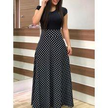 56c78c60c8224 نسخة متفجرة من النمط الأوروبي والأمريكي زهرة طباعة اللون مطابقة اللباس  تنورة طويلة ملابس النساء-