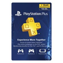 PlayStation Plus Subscription - UAE Account - 1 Year