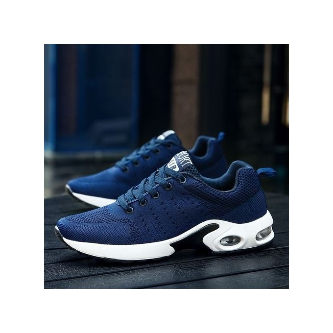 713e5250114e Sale on Men s Sneakers 2018 Men Running Shoes Blue