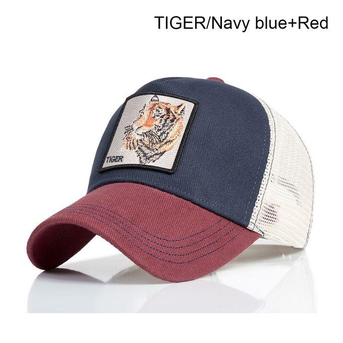 f95ed4e0 Fashion Snapback Hat For Men Summer Mesh Baseball Cap Women Animal  Embroidery Hip Hop Cap Casquette ...