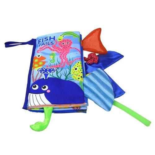 Schoolcool New Cloth Book Baby Kids Boys Girls Intelligence Development Educational Toys