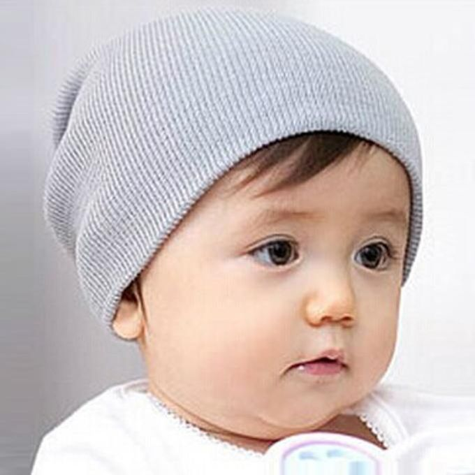 0b3dc5fa0a0 Tectores Fashion Trend Baby Beanie Boy Girls Soft Hat Children Winter Warm  Kids Knitted Cap GY