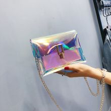 3a6bdc5550288 Fashion Women Laser Transparent Crossbody Bags Messenger Shoulder Bag Beach  Bag