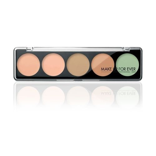 bf85788df3 Make Up For Ever 5 Camouflage Cream Palette - #1 Very Light Complexion