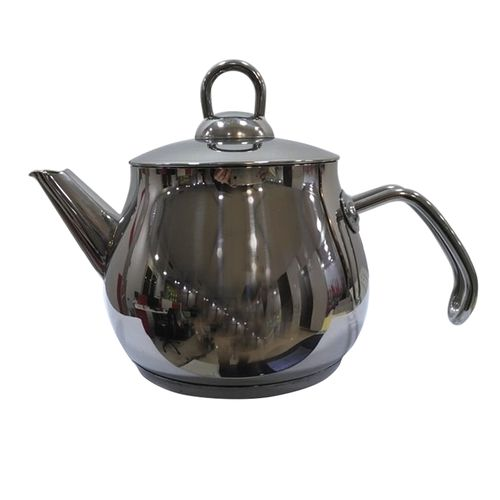 Stainless Steel Kettle - Silver