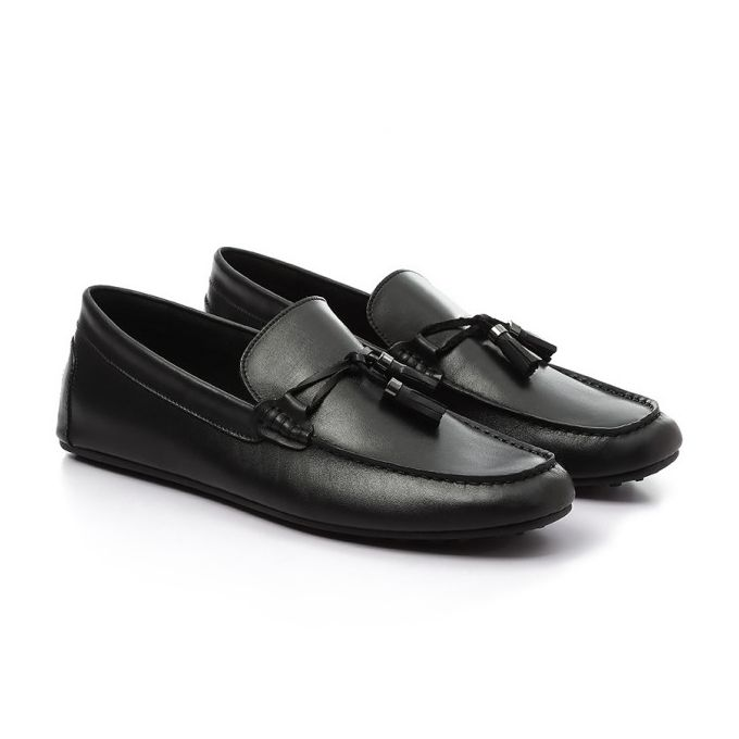 dd5ea620903 Sale on Leather Unique Penny Loafer - Black