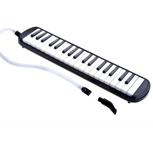 37 Key Electronic Keyboard Melodica With Case - Black
