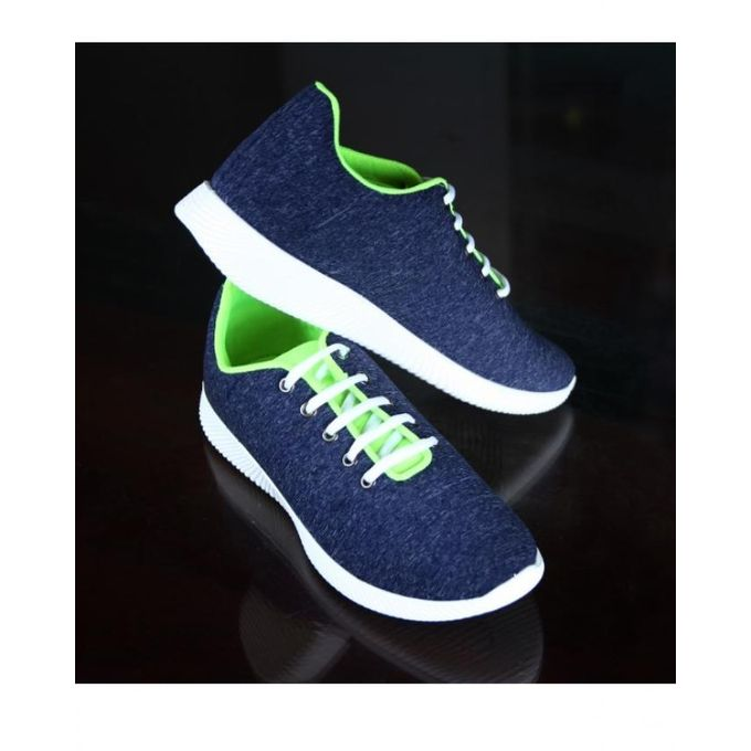 d6223710f حذاء رياضي كاجوال قماش - كحلي - Jumia مصر
