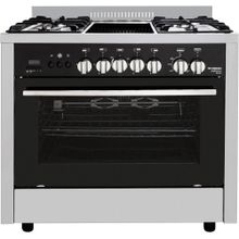 Stainless Steel  Professional Grillo Gas Cooker - 5 Burners