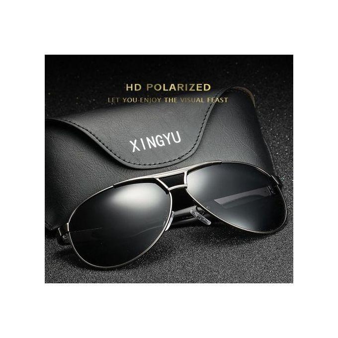 c5156ff79 Excellent Polarized Sunglasses Classic Driving Mirror Men's Glasses-black