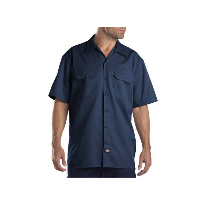 Dickies Big Mens Short Sleeve Twill Work Shirt