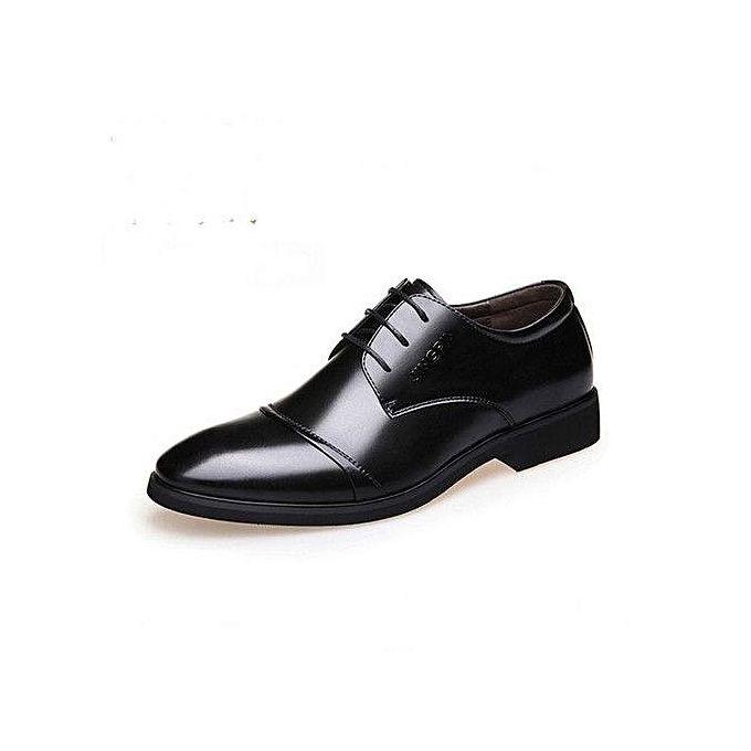 bd4a16eca Excellent Beauty Generic 2017 Men's Dress Modern Classic Lace Up Leather  Slip On Formal Shoes Men
