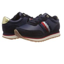 f2470148 Tommy Hilfiger Women's Tommy Sequins Retro Runner Low-Top Sneakers
