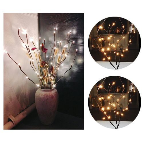 Floor Lamps Led Willow Branch Lamp Floral Lights Holiday Home Birthday Party Decoration Battery Floor Lamp Garden Decoration Light On Sale Lamps & Shades