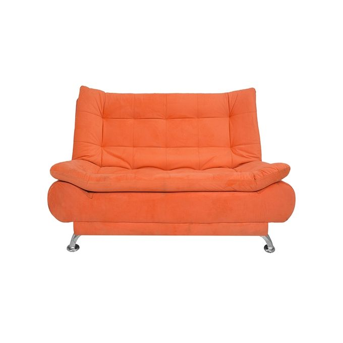 Art Home 3 Seaters Velvet Sofa Bed 190x120 Cm Orange Buy Online Jumia Egypt