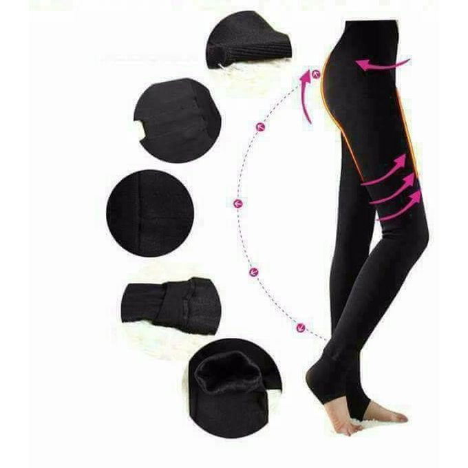 d62cbb35c073 Sale on Leggings With Heel For Women Activewear Pants - Black ...