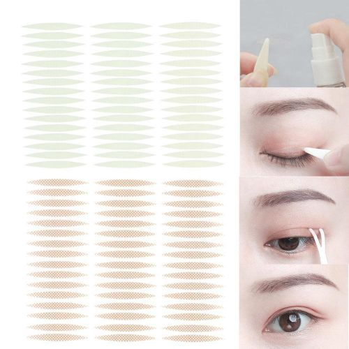 72 Pairs Non-irritating Double Eyelid Tape Breathable Anti Allergy Eyelid  Sticker