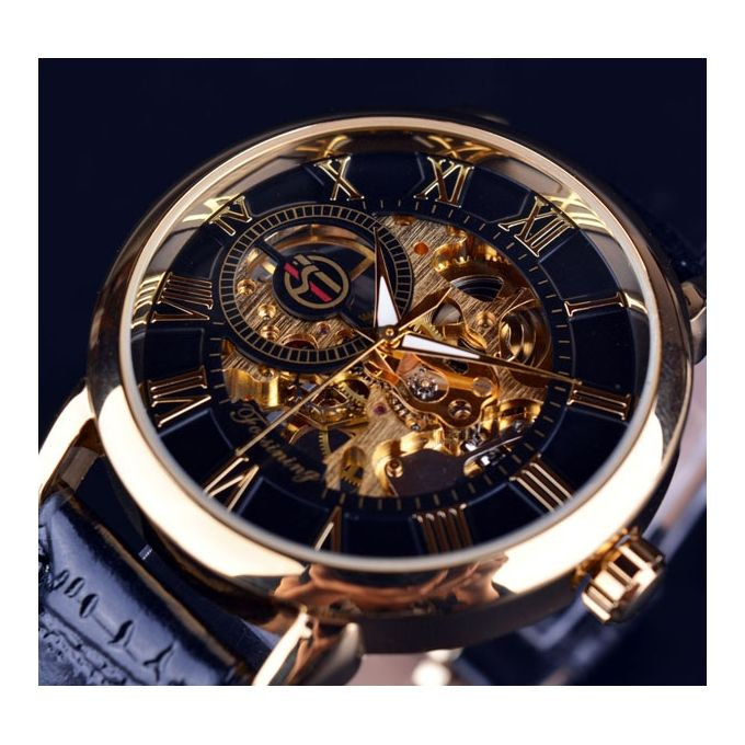 b44fdffa8 Winner Watch Men Skeleton Automatic Mechanical Watch Gold Skeleton Vintage  Man Watch Mens FORSINING Watch Top