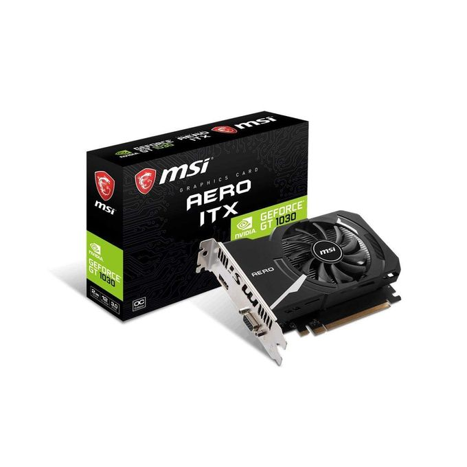 GT1030 AERO ITX 2GD4 OC Graphic Card
