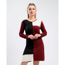 e4023bf4902 Cuts Solid Slip On Tunic Top With Slits - Maroon