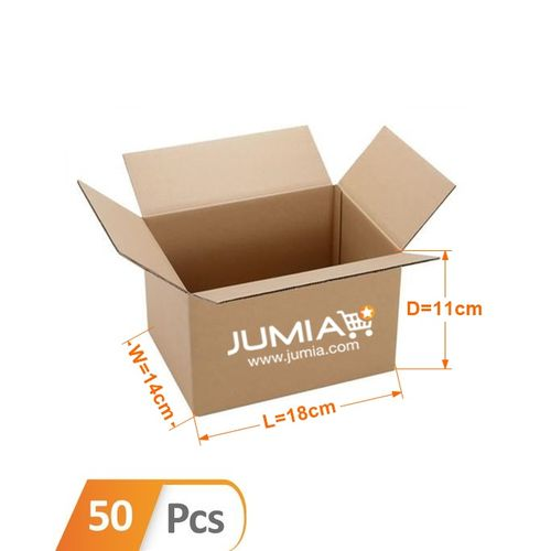 Small Size 1 Branded Cartons – 50 Pcs