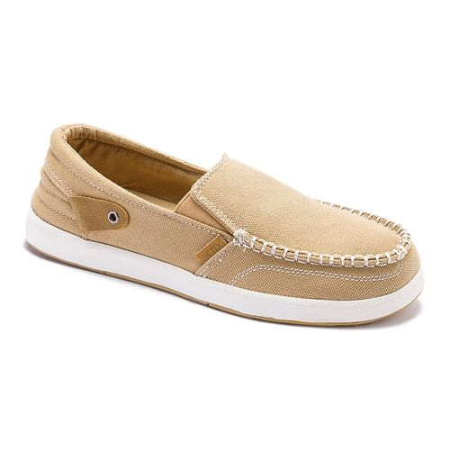 Canvas Slip On Shoes - Beige