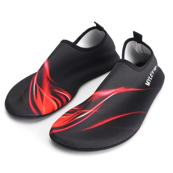 Outdoor Water Sport Neoprene Scuba Diving Swim Snorkeling Socks Surf Beach Shoes Men/Women Red