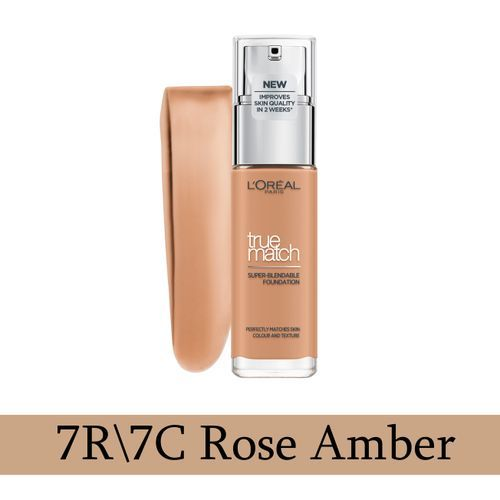 True Match Liquid Foundation - 7C Rose Amber