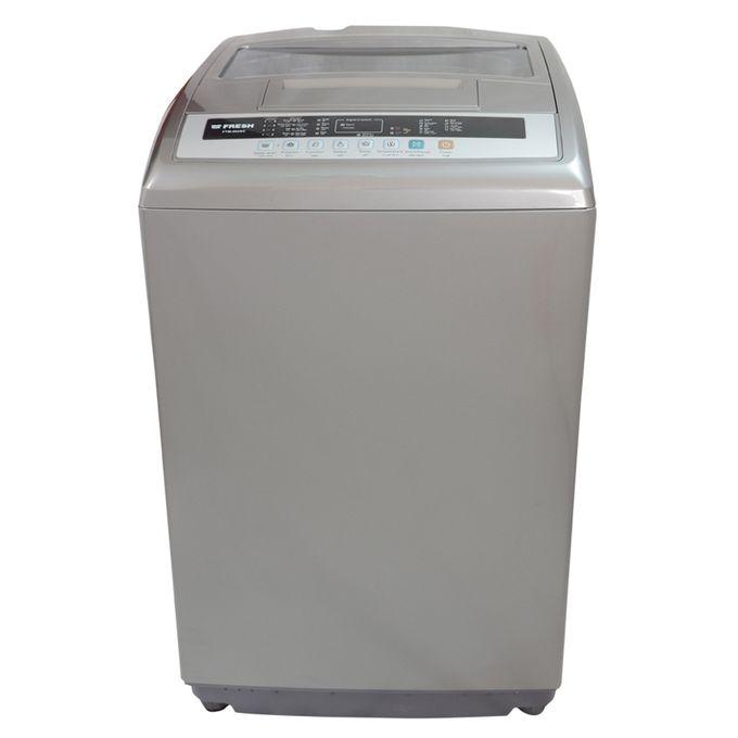 fresh digital top loading washing machine 8 kg silver buy online jumia egypt. Black Bedroom Furniture Sets. Home Design Ideas