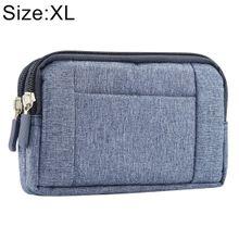 d5f1dc545 Sports Denim Universal Phone Bag Waist Bag for 6.4~6.5 inch Smartphones,  Size: