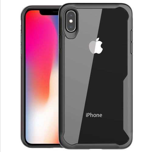 official photos d65b1 58825 IPhone XS Max Case, RUILEAN Slim Anti-Scratch Fexible TPU Frame With  Transparent PC Back Case Cover For IPhone XS Max 548256 C-2 (Color:Main  Picture)
