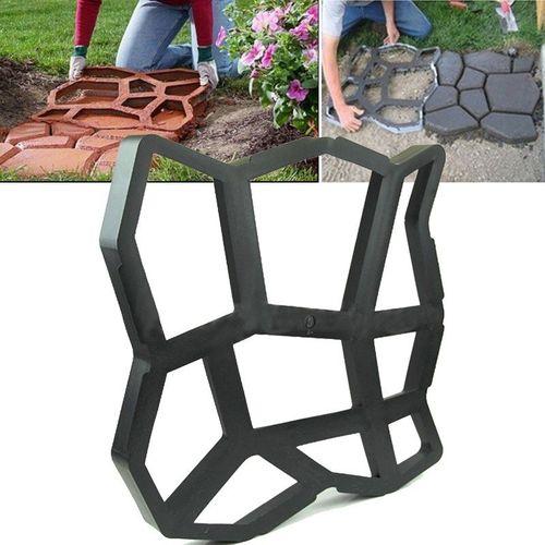 DIY Path Paving Maker Peace Dove Mold Imitation Brick Carving Pavement Tool 30CM