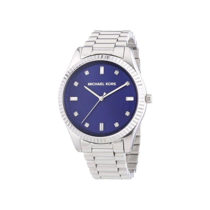 349922634396 Sale on Michael Kors Blake Blue Dial Stainless Steel Women s Watch ...