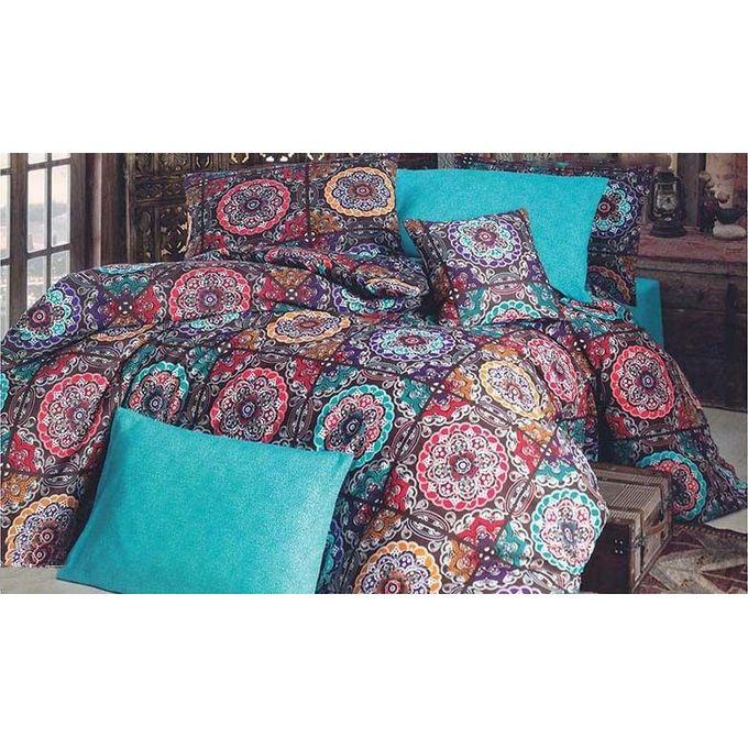 1 Bed Sheet + 1 Pillow + 1 Small Pillow – Multicolor –  مصر