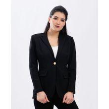 e5713d00e Fashion النساء الملابس سليم بلايز بلا زر معطف الحلل الأسود. جنيه 349. S M L  XL XXL · Solid Blazer- Black