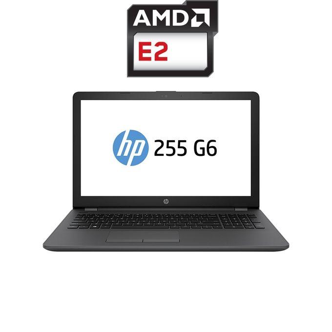 255 G6 لاب توب - وحدة معالجة AMD E2 - رام 4 جيجا بايت - هارد HDD 500 جيجا بايت - شاشة عالية الوضوح 15.6 بوصة - وحدة معالجة الرسومات AMD - DOS - أسود - لوحة مفاتيح إنجليزية