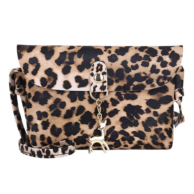 97bb6c451a7 Tectores Womens Leather Crossbody Bag Leopard Print Shoulder Bags Messenger  Bag Coin Bag
