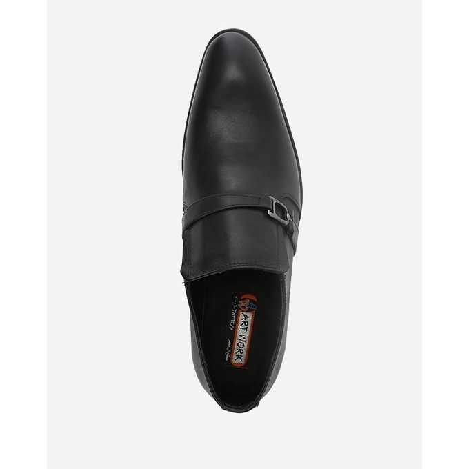 artwork pointed formal shoes black buy jumia